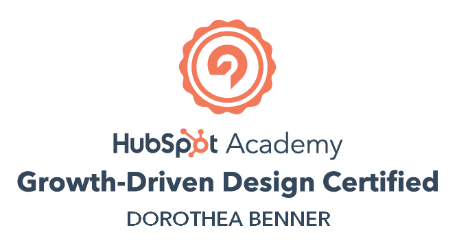 HubSpot Certiefied Growth-Driven Design (GDD)